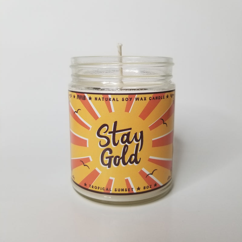 Stay Gold Candle