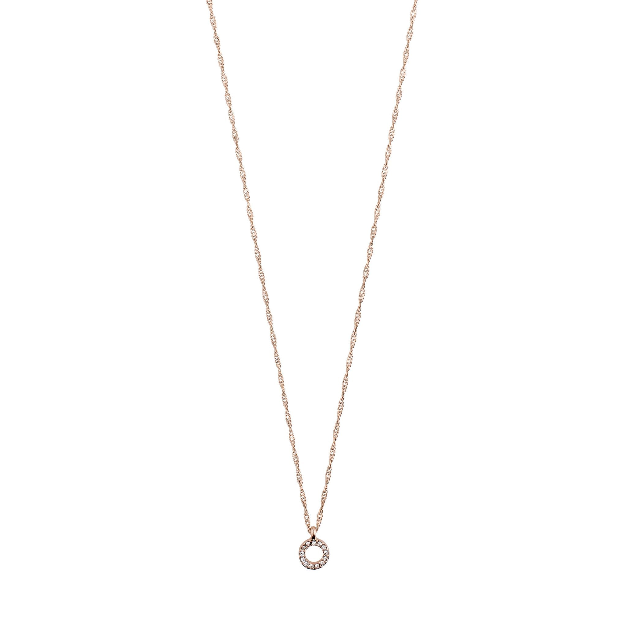 Tessa Necklace - Rose Gold
