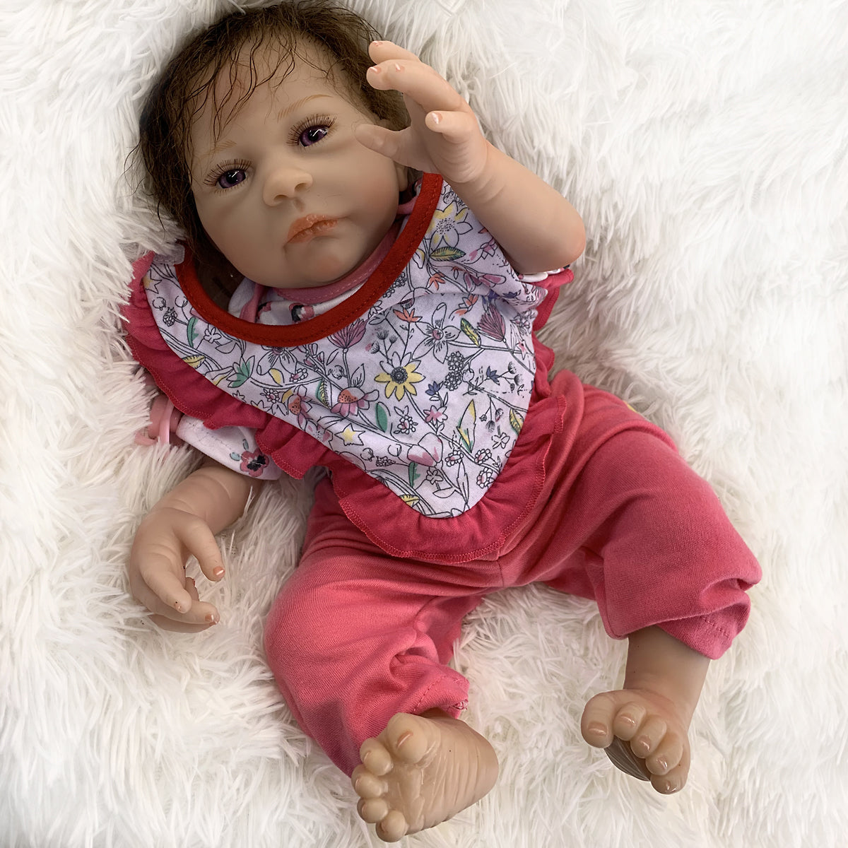 "🔥Limitied Time🔥20"" Acestar Reborn Baby Doll-Elephant and Flower"