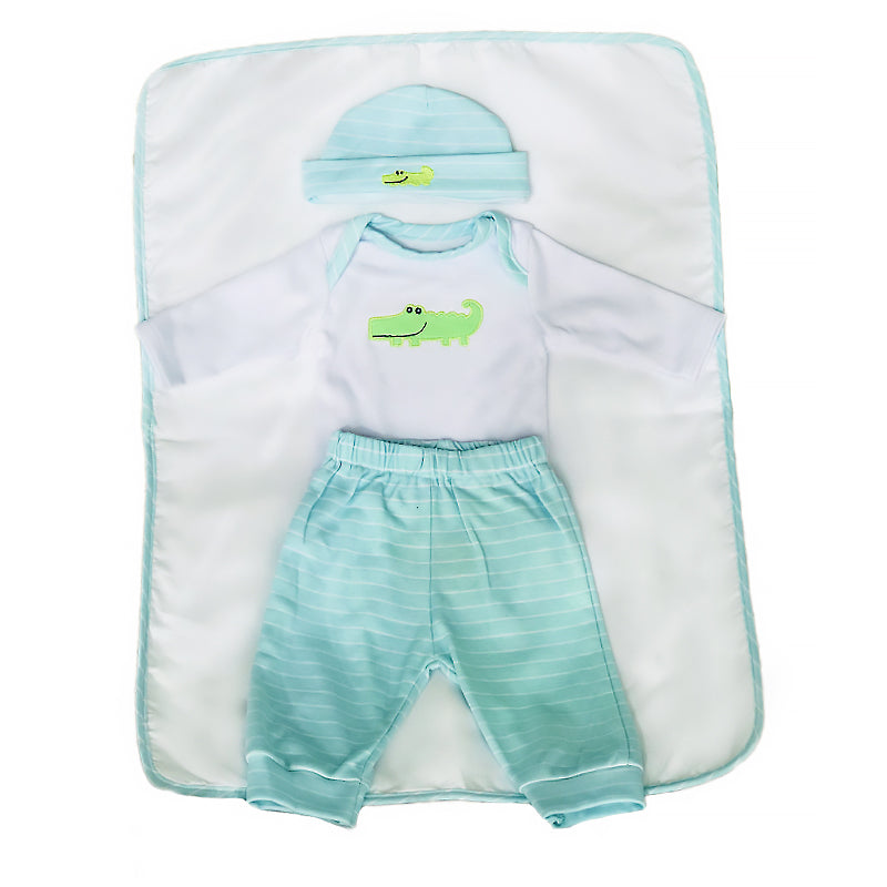 Reborn Baby Doll Clothes Adorable Outfit for 18''-22'' Reborn Baby