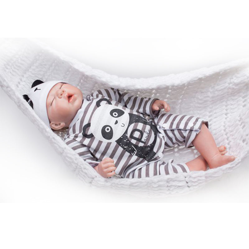 "🔥Limitied Time🔥20"" Acestar Reborn Baby Doll-Striped panda"
