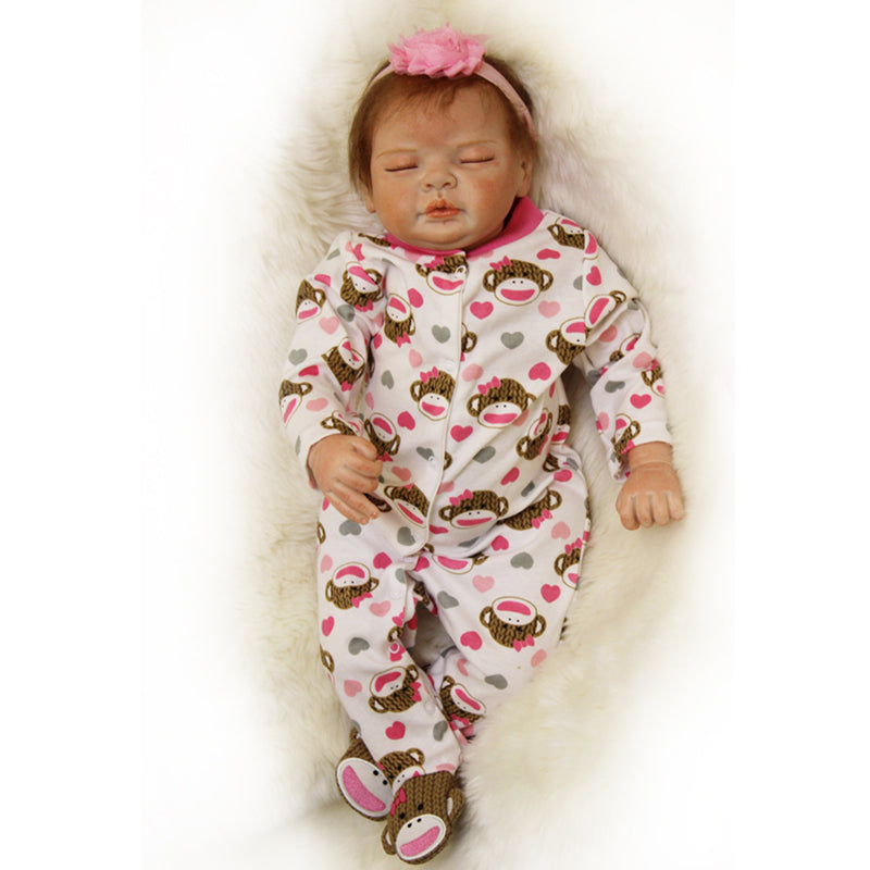 "🔥Limitied Time🔥22"" Acestar Reborn Baby Doll-Cute monkey"