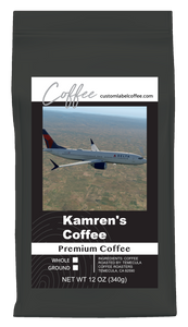 Premium Coffee - Custom Label