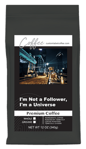 Premium Coffee - Custom Label Coffee Stream Beans