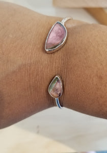 Maine Watermelon Tourmaline Bangle