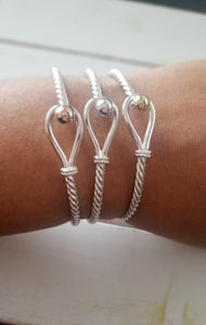 Hook Twist Bangle
