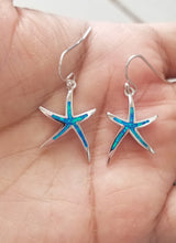 Load image into Gallery viewer, Opal Starfish Earrings (Small)