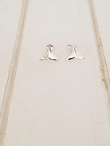 Whale Tail Earrings & Studs