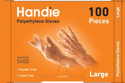 PE Disposable Gloves (1000) gloves)