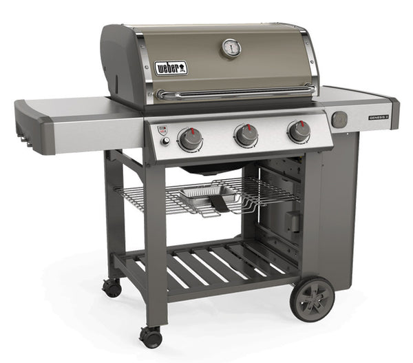 Genesis II E-310 GBS BBQ Smoke - Grey -Plus Weber Freebies
