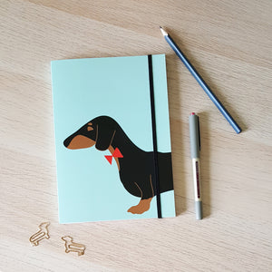 Dachshund A5 notebook