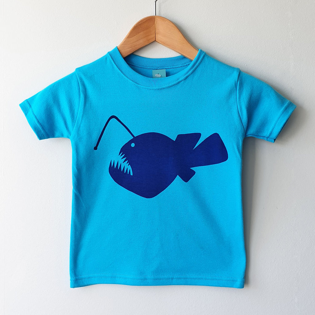 Angler Fish kids tshirt