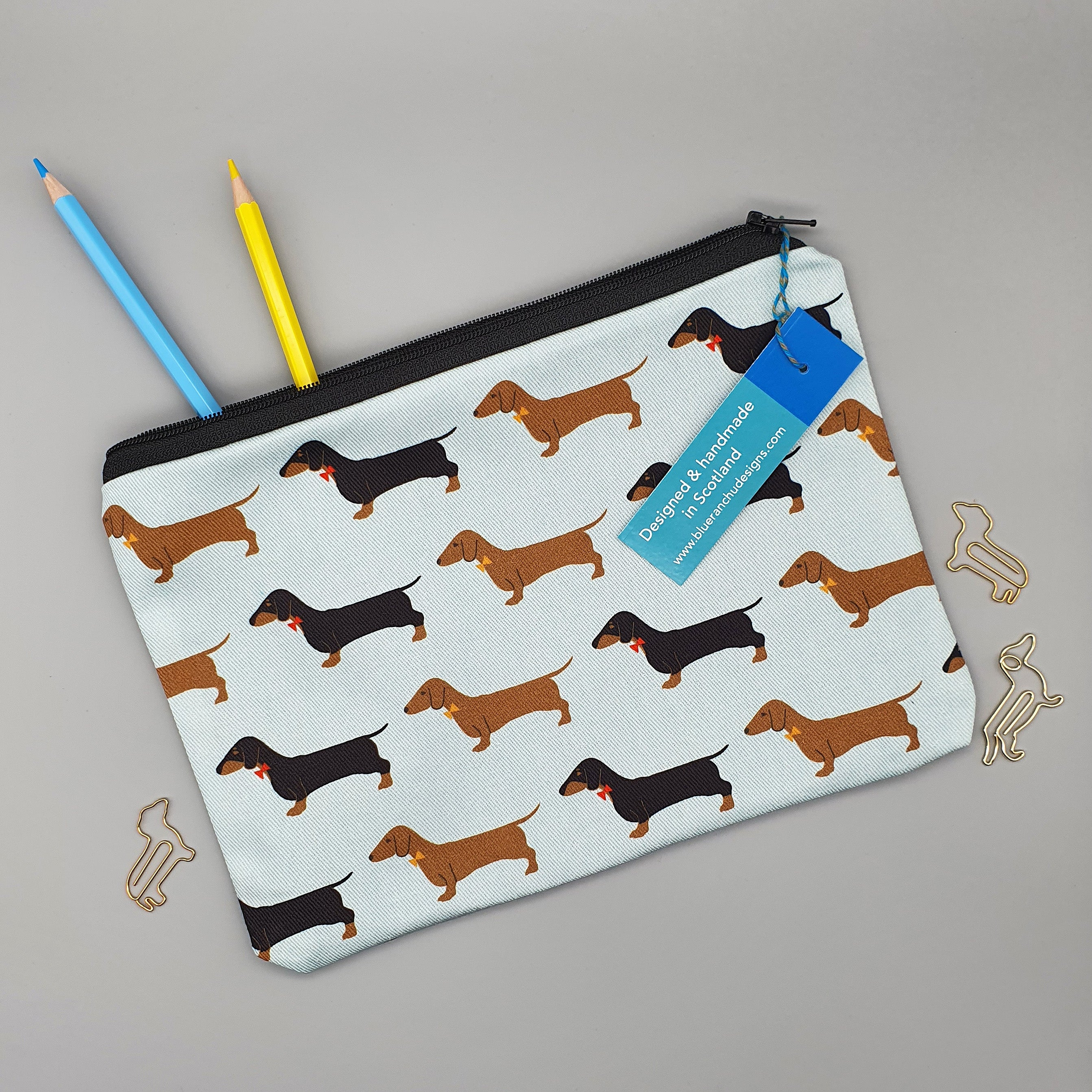 Dachshund pencil case