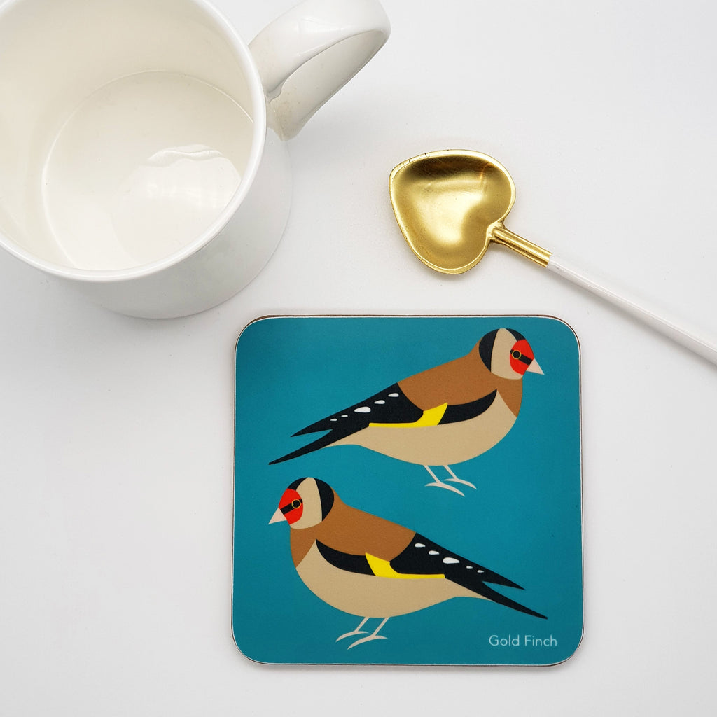 Gold Finch Coaster