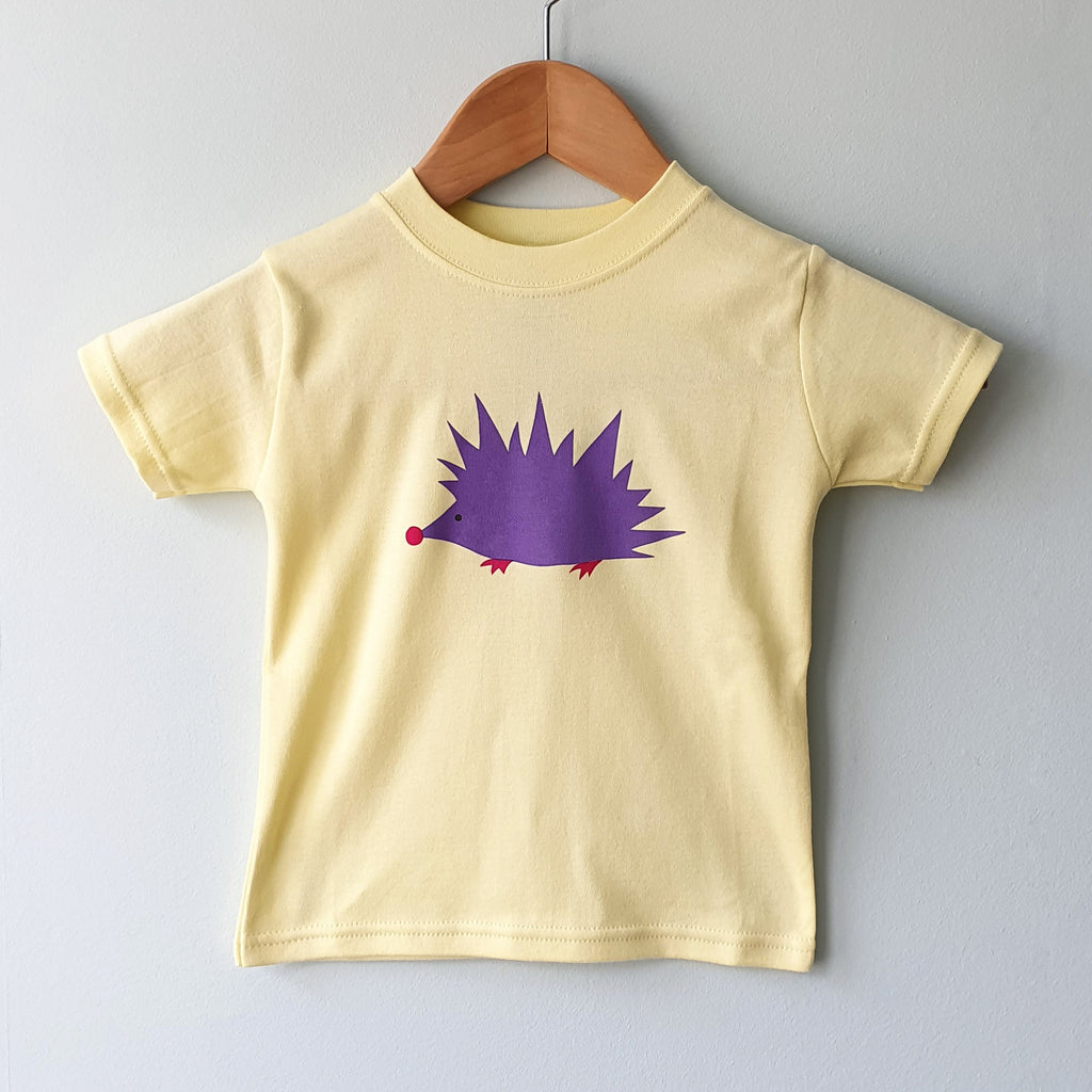 Hedgehog kids cotton tshirt