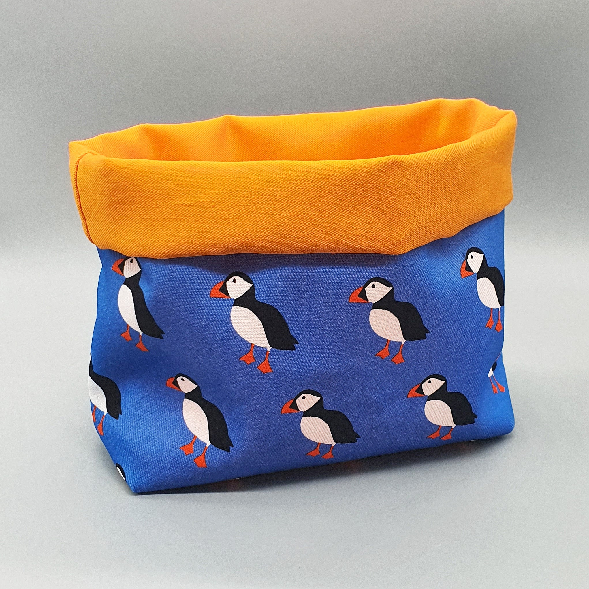 Puffin storage basket