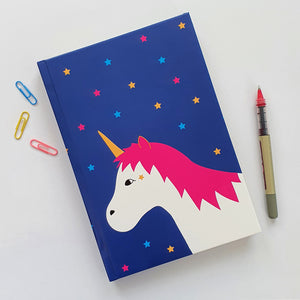 Unicorn A5 notebook