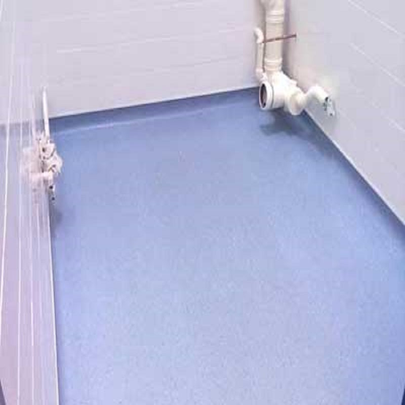 H TRIM WHITE CAPPING STRIP (For wetrooms)