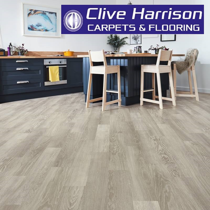 Karndean Knight Tile (KP138 Grey Limed Oak)
