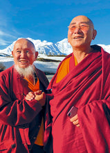 Load image into Gallery viewer, Lama Gangchen Rinpoche and Nyima Rinpoche