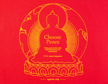 "Load image into Gallery viewer, Tote Bag ""Choose Peace"""