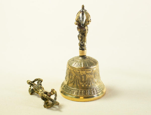 Brass Dorje and Bell
