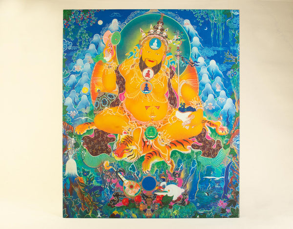 Lama Gangchen Rinpoche and the NgalSo Body Mandala