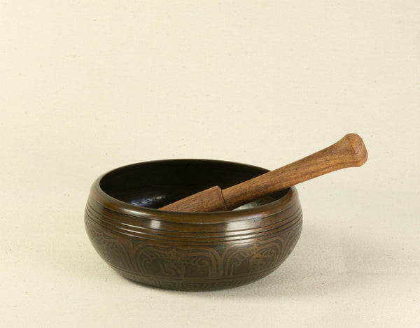Green Tara Singing Bowl 12 cm