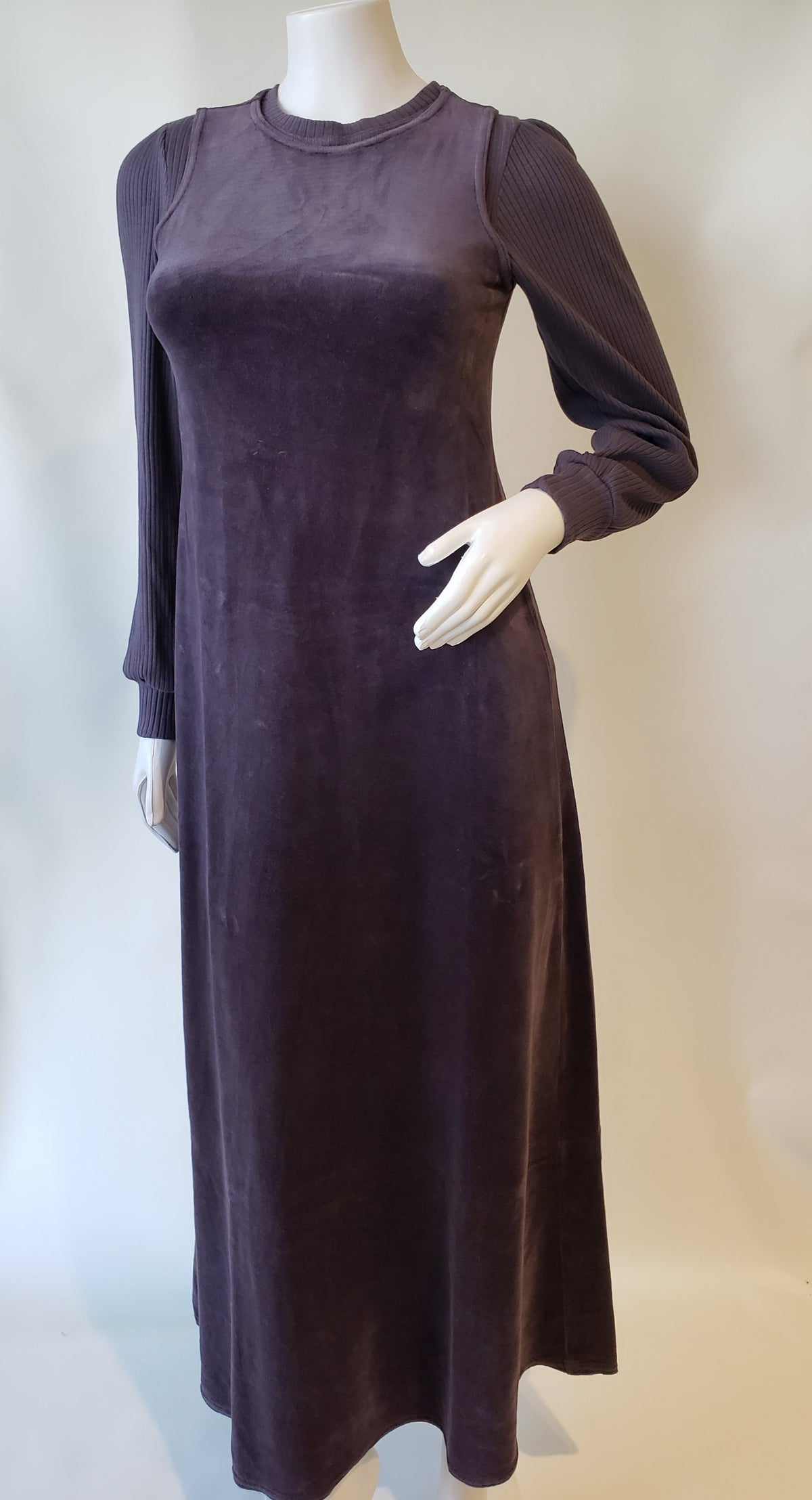 Hardtail Velour Shell Dress