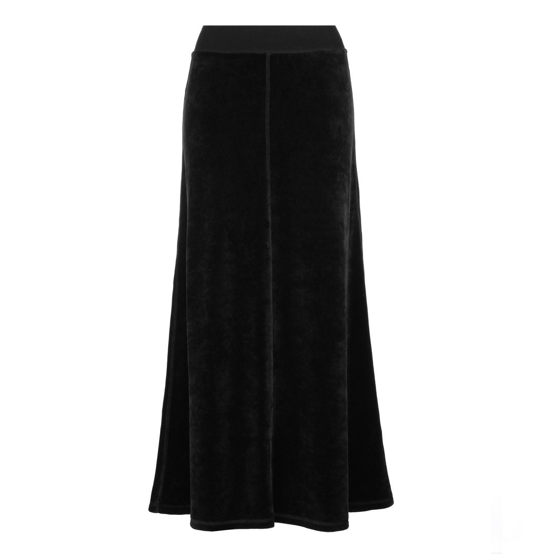 Parni Velour Maxi Skirt