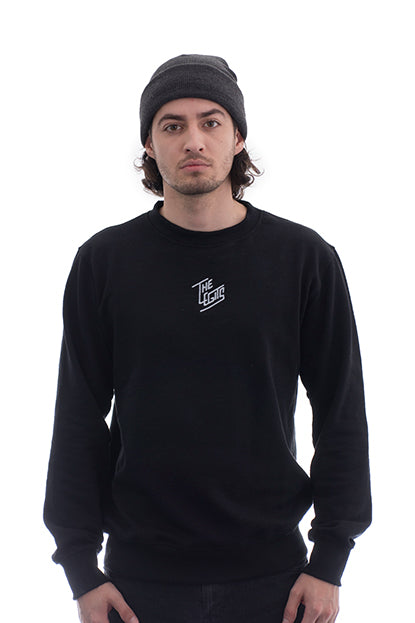Sweater - Clean Cut (Black)