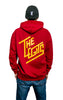 Hoodie - Logo (Red Hot Chilli)