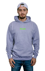 Hoodie - Logo (Heather Grey)