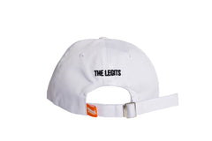 White Six Panel Hat back
