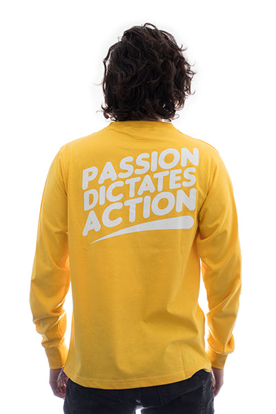 Tee - PDA LONG SLEEVE (Yellow)