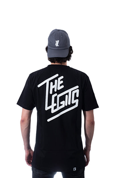 Tee - Diagonal (Black)