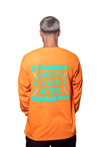 Long Sleeve - State of Mind (Orange)