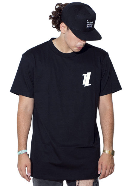 Tee - Diagonal Logo (Black)
