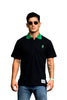 Polo Tee - Lil Zoo x The Legits (Black)