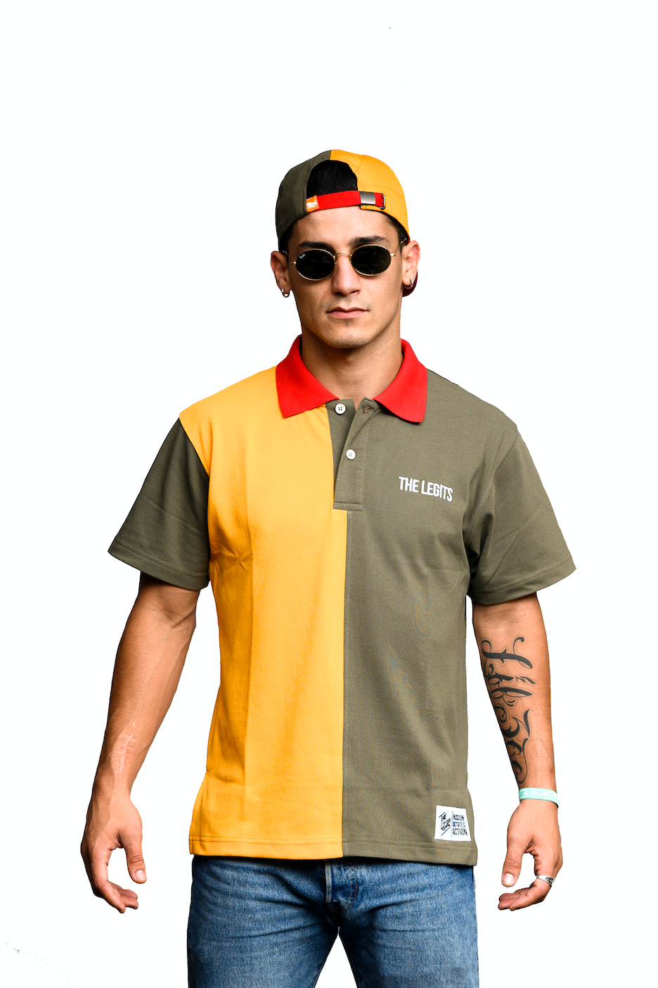 Polo Tee - The Legits (Tricolor)