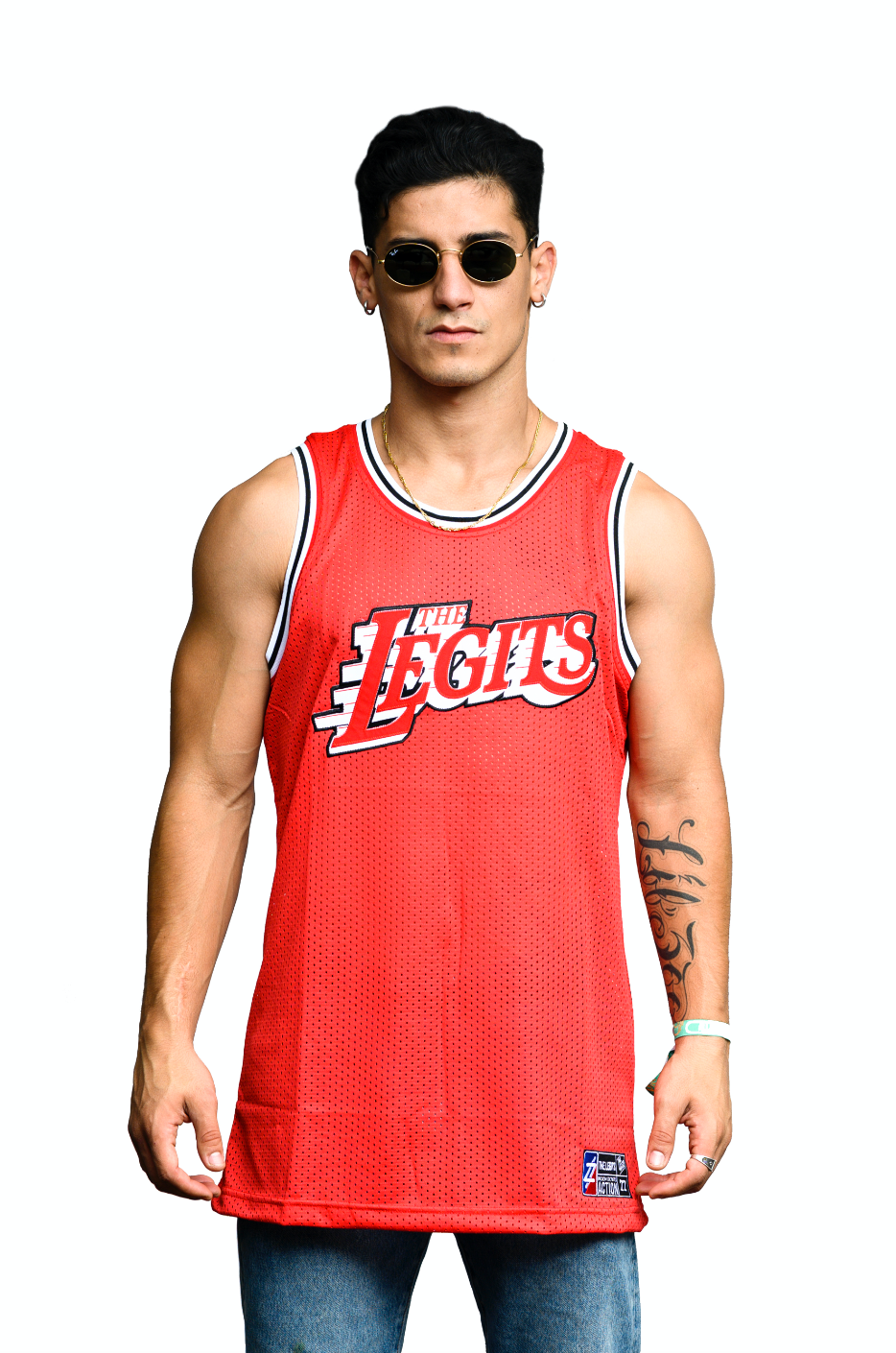 The Legits - Basketball Jersey (Red)