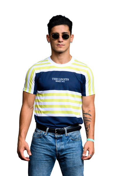 Tee - Stripes (Tricolor)