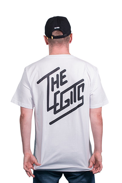 Tee - Diagonal (White)