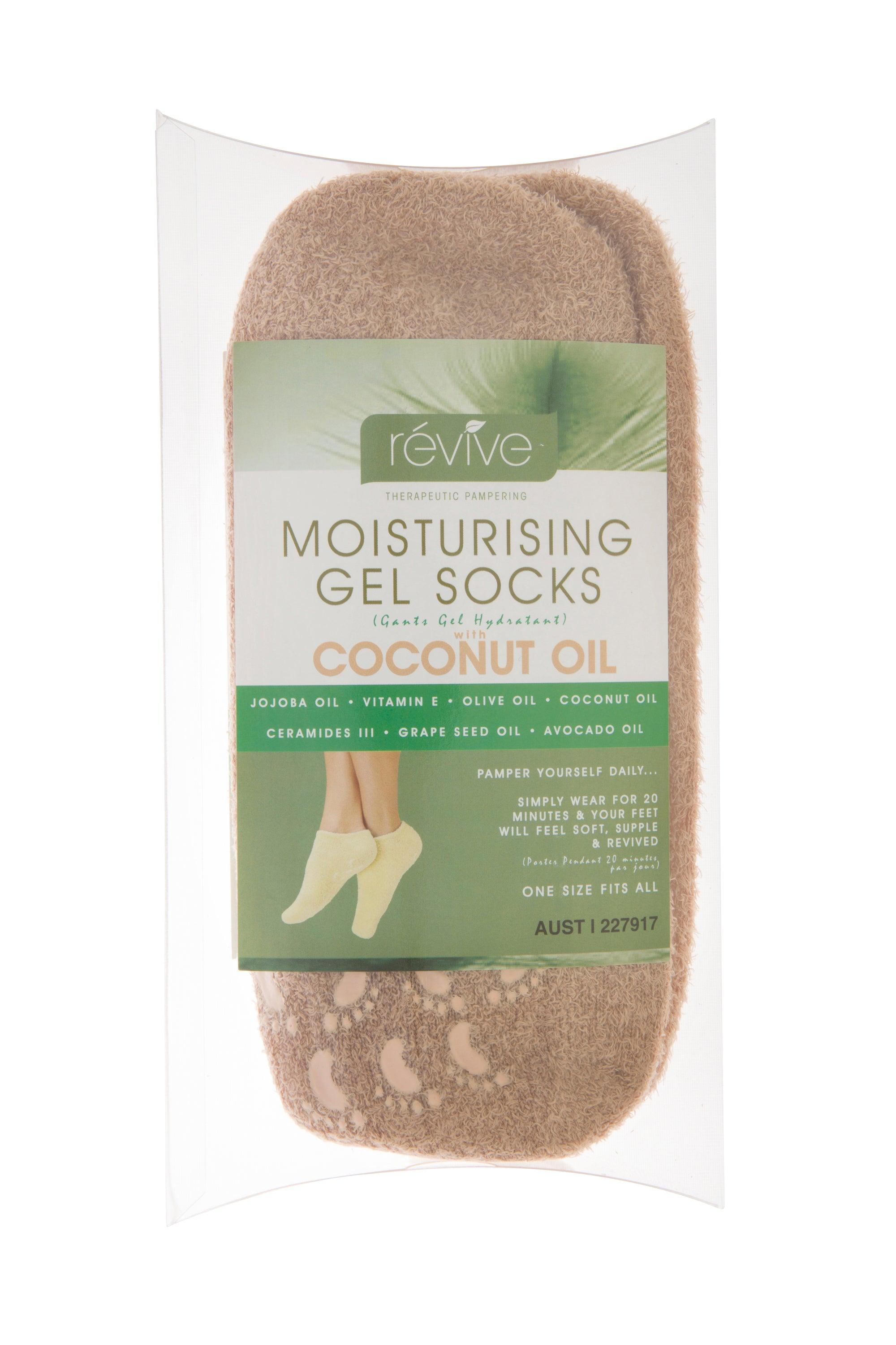 révive Coconut Oil Gel Socks | Révive Global | Therapeutic Skincare Products