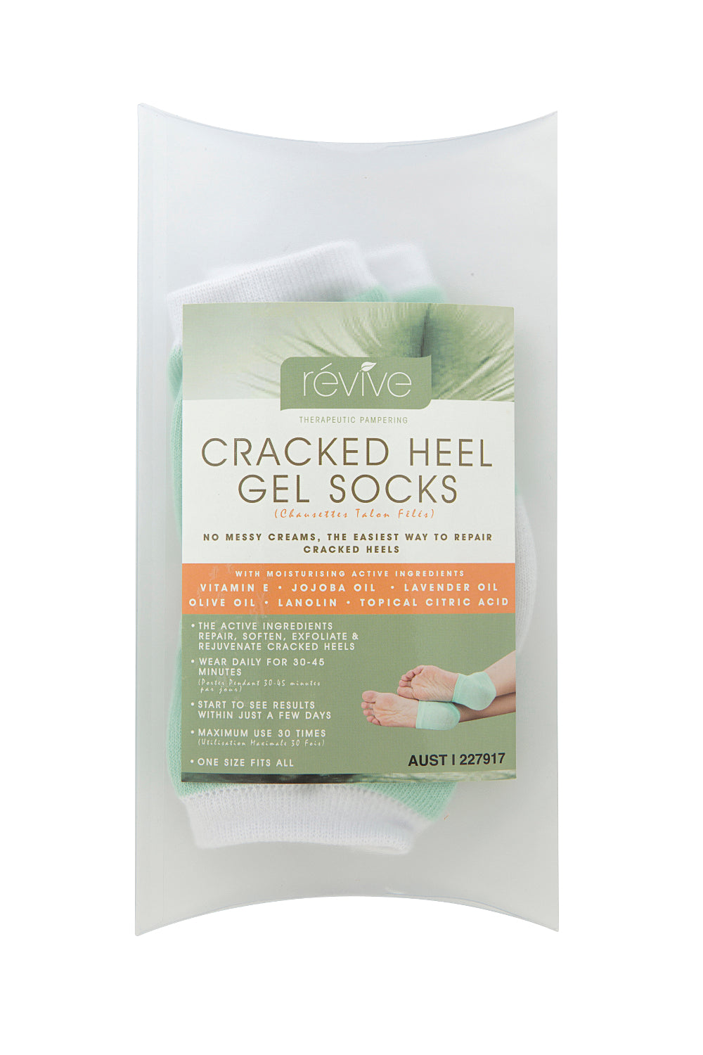 révive Cracked Heel Socks | Révive Global | Therapeutic Skincare Products