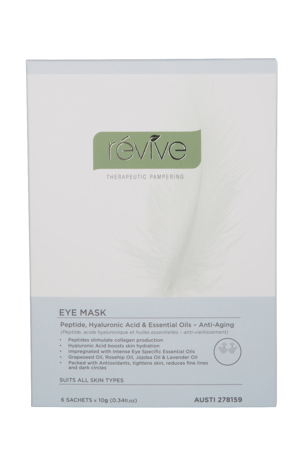 révive Eye Mask | Révive Global | Therapeutic Skincare Products