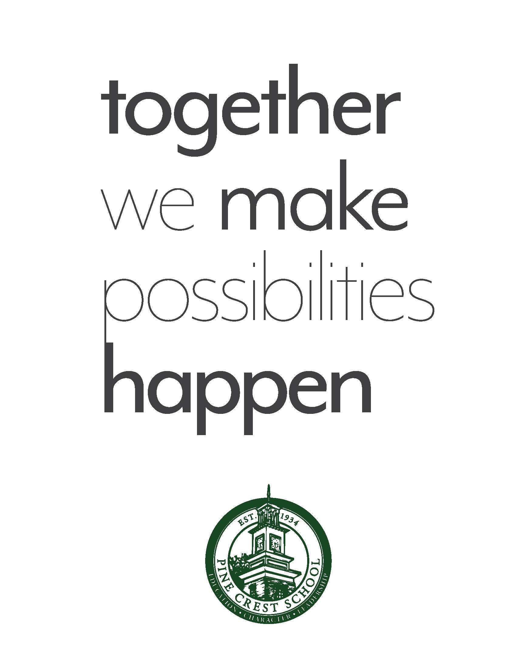 Pine Crest School 2017-18 Fundraising Campaign Ask Donors