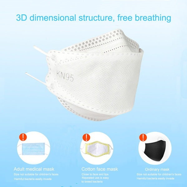 Kids Anti Pollution Dust Mask N95