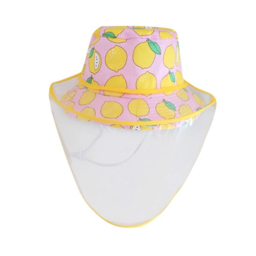 Kids Anti Spitting Full Protective Hat