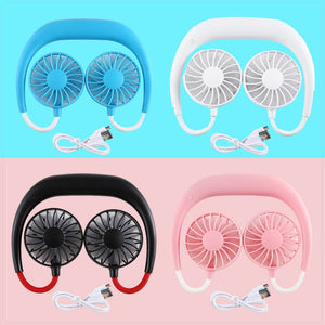Mini Portable Neckband Fan